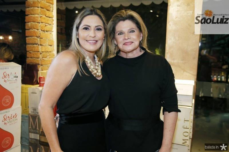 Deborah Nibon e Sandra Romcy