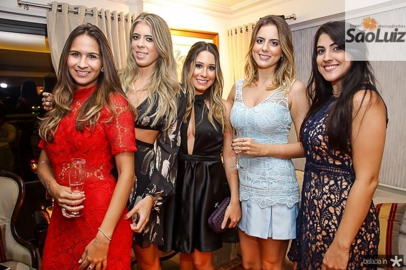 Marina Brasil, Gabriela Assunçao, Grasiela Maia, Bia Gradvohl e Beatriz Portela