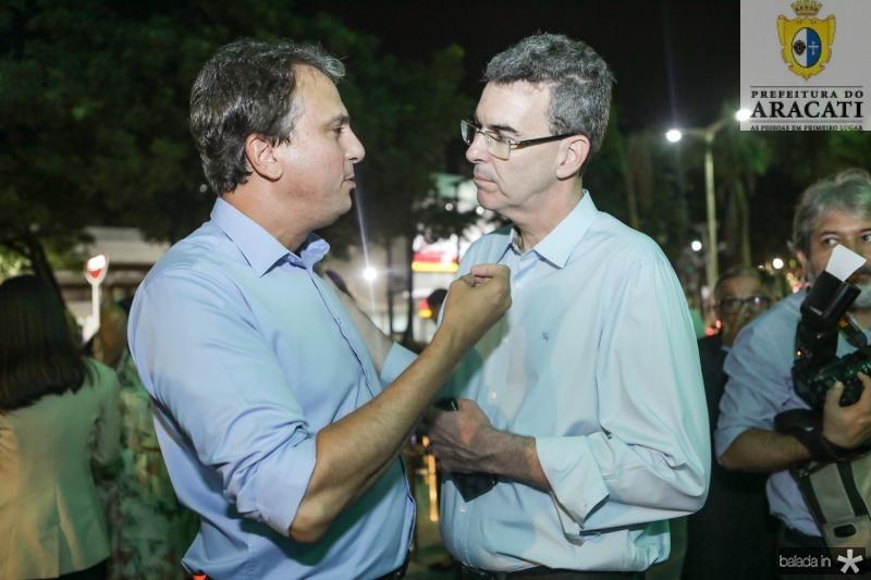 Camilo Santana e Geraldo Luciano