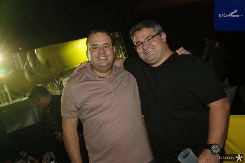 Rodrigo Roma e Mario Queiros