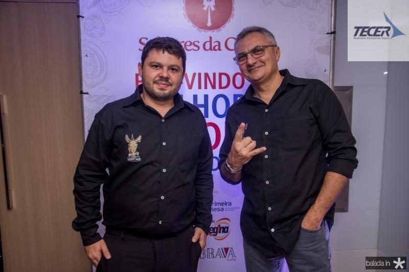 Fabio Valente e Anisio Queiroz
