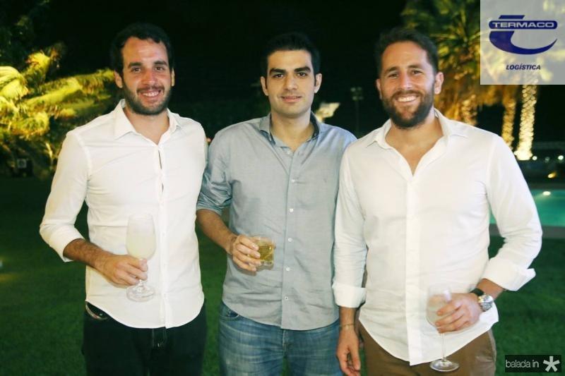 Ze Ricardo, Rodrigo Nogueira e Rodrigo Frota
