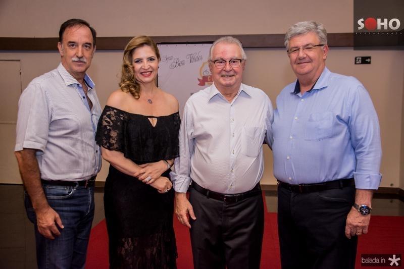 Armando Abreu, Enid Camara, Bruno Iughitti e Carlos Maia