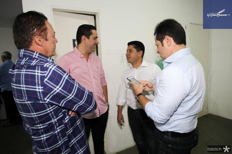 Darlan Leite, Eduardo Bismarck, Pompeu Vasconcelos e Marcos Andre Borges