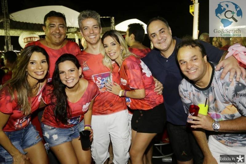 Renata Cabral, Wellington e Marcela Paim, Laire e Polyana Simas, Marcelo Dourado e Enio Cabral