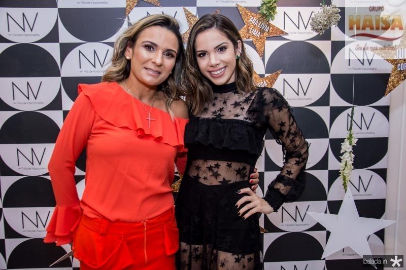 Vinizia Ribeiro e Nicole Vasconcelos