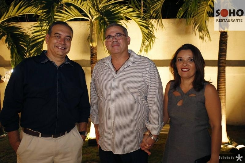 Madson Cardoso, Marcio e Juliana Morgado