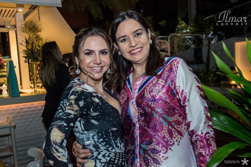 Adriana Queiroz e Lia Freire