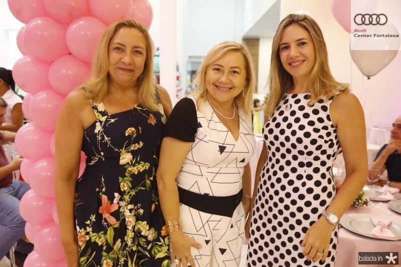 Mercia de Paula Pessoa, Auri Parente e Melissa Bandeira