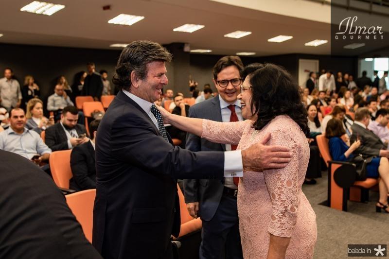 Luiz Fux, Edilberto Pontes e Nailde Pinheiro