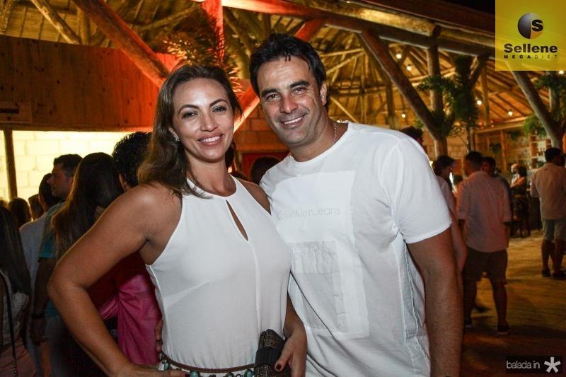 Elaine Sá e Ricardo Bonaier