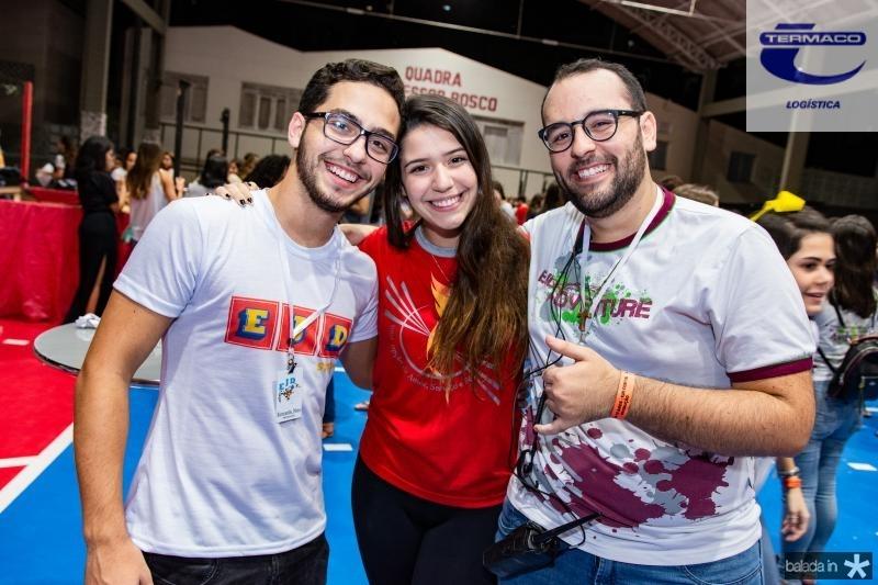 Jose Everardo, Bianca Santana e Rodrigo Aguiar