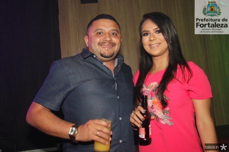 Luciano Sales e Raquel Lima