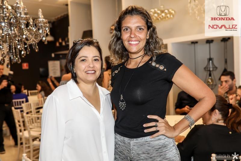 Cassandra Farias e Elisabeth Fernandes