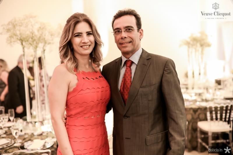 Karmilse e Gustavo Porto