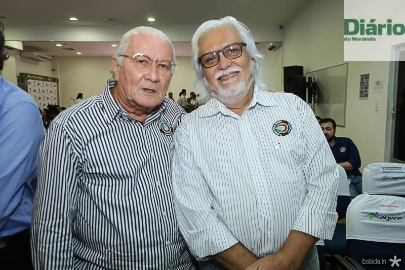 Chico Barreto e Joaquim Cartaxo
