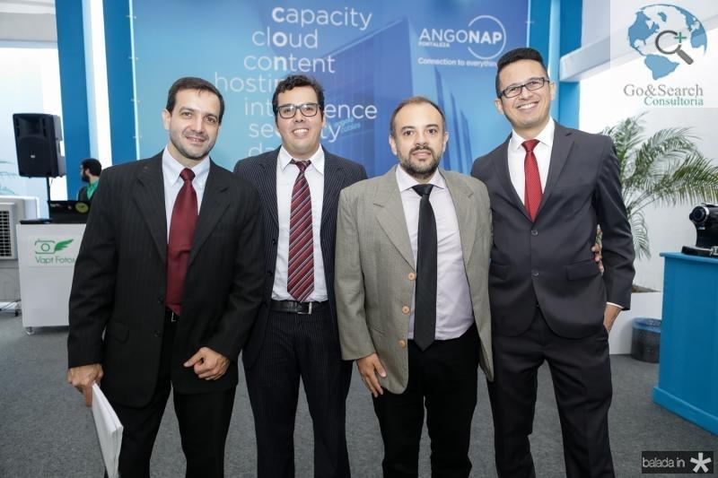 Marcos Sanjar, Gustavo Branco, Fabio Lima e Wilian Ferreira