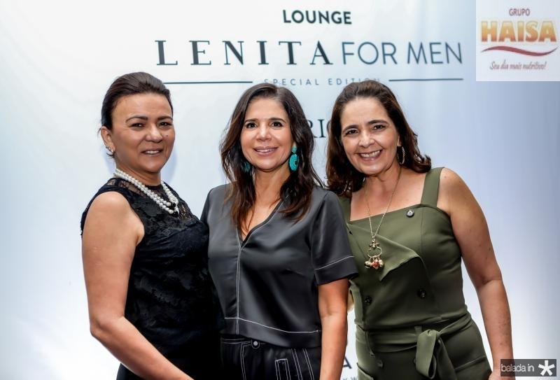 Guiomar Feitosa, Maria Lucia Negrao e Giana Studart