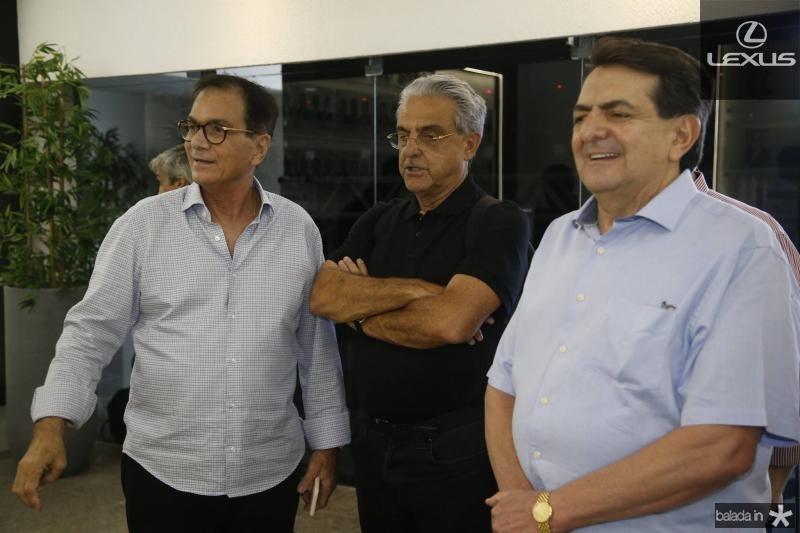 Beto Studart, Robson Andrade e Paulo Afonso