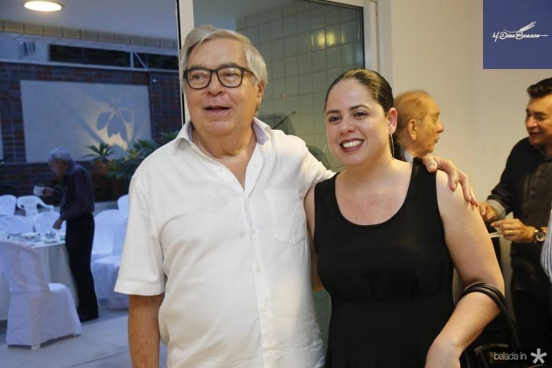 Roberto Farias e Ticiane Lima