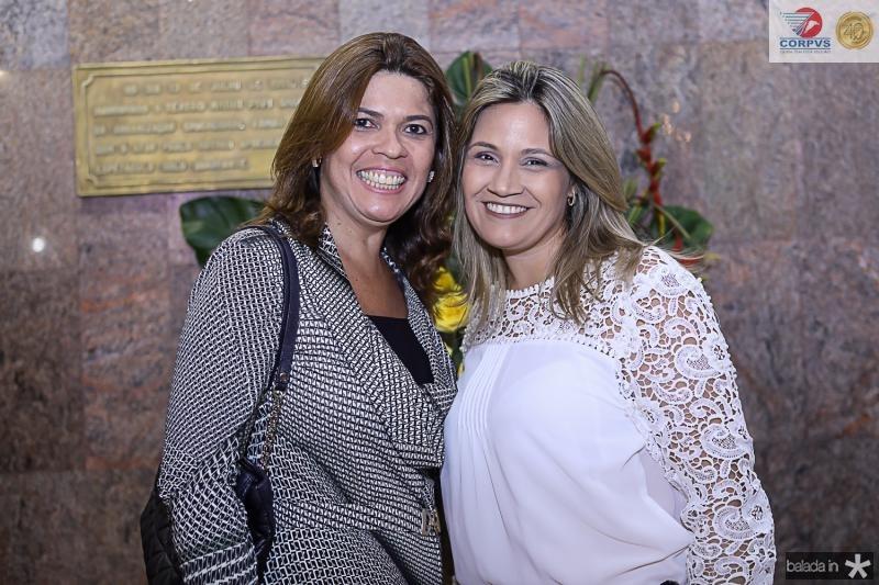 Patricia Teixeira e Daniele Cabral