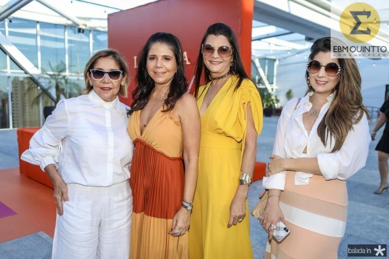 Ines Peixoto, Maria Lucia Negrao, Liliana Farias e Renata Aguiar