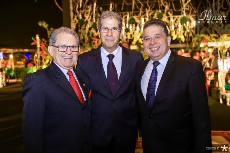 Araujo Sobrinho, Ramalho Neto e Gerardo Bastos Filho