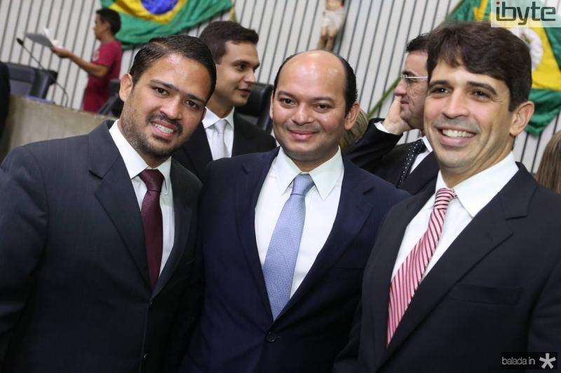 Silvio Montezuma, Otilio Ferreira e Mauricio Targino