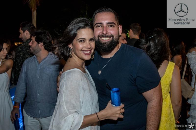 Joana Ramalho e Luiz Victor Torres