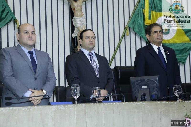 Roberto Claudio, Igor Queiroz Barroso e Zezinho Albuquerque