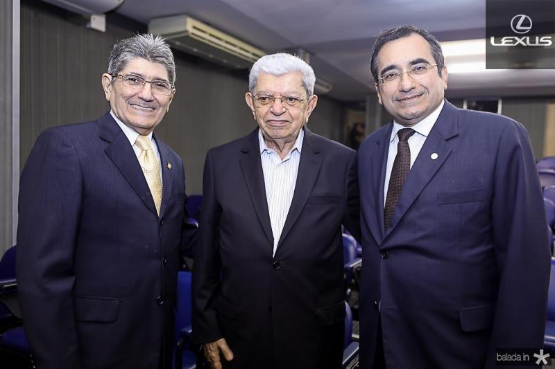 Augusto Bezerra, Pedro Cisnando e Jardson Cruz