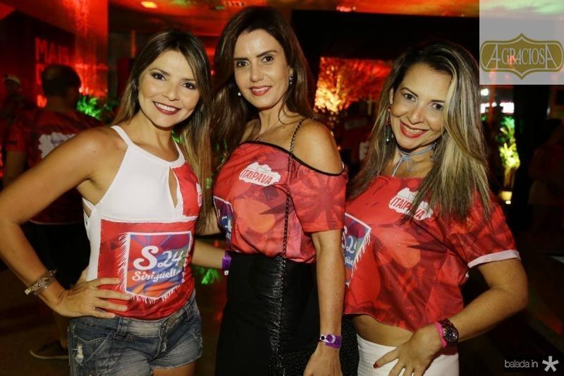 Sorayma Leite, Patricia Nogueira e Patricia Oliveira
