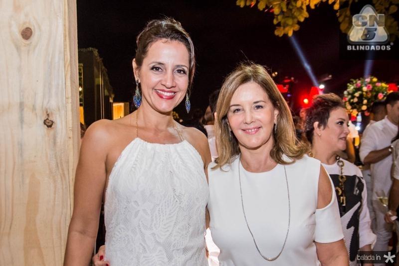 Christiane Emidio e Fernanda Matoso