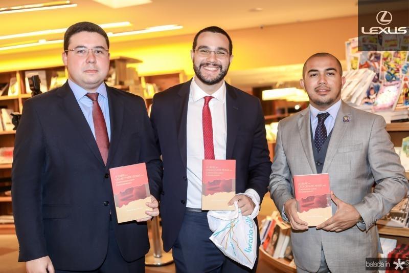 Gabriel Brandao, Italo Braga e Ramon David