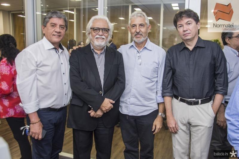 Sampaio Filho, Joaquim Cartaxo, Lauro Martins e Edgar Gadelha