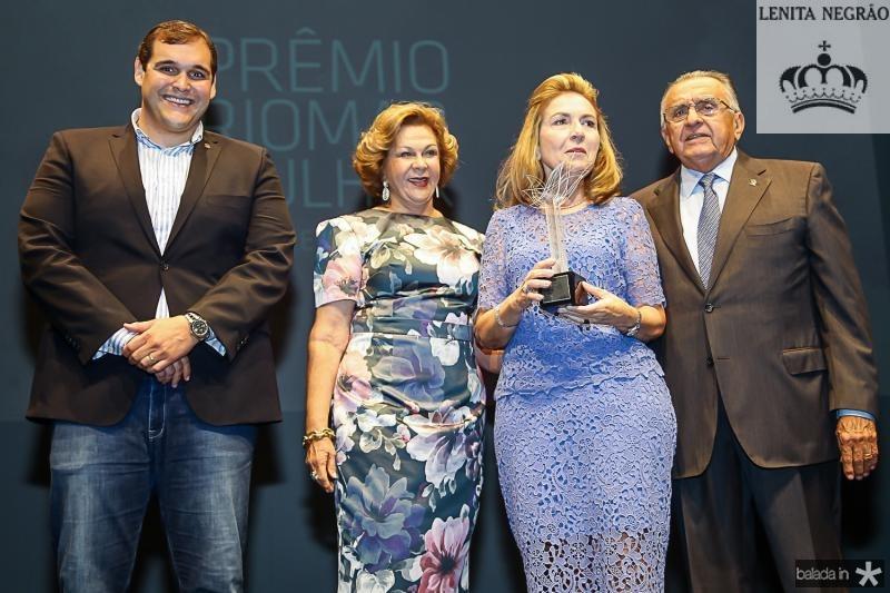 Marcelo Melo, Auxiliadora Paes Mendonça, Gorete Arruda e Joao Carlos Paes Mendonça