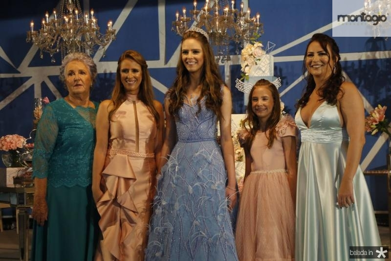 Clarisse, Gabrielle e  Clara Dal Belo, Luna e Camila Nobre