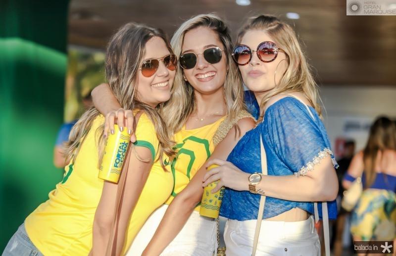 Liana Cavalcante, Isabella Lima e Uliane Castro