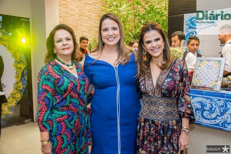 Nadja Parente, Luciana Colares e Niedja Bezerra