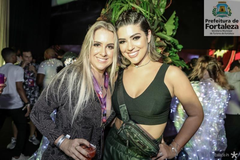 Patricia Lima e Vivian Amorim