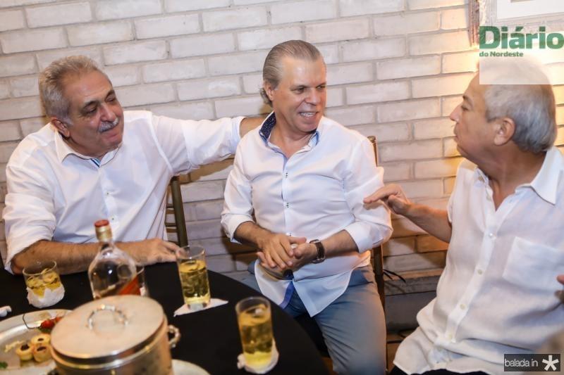 Paulo Baquite, Claudio Studart e Clovis Rolim