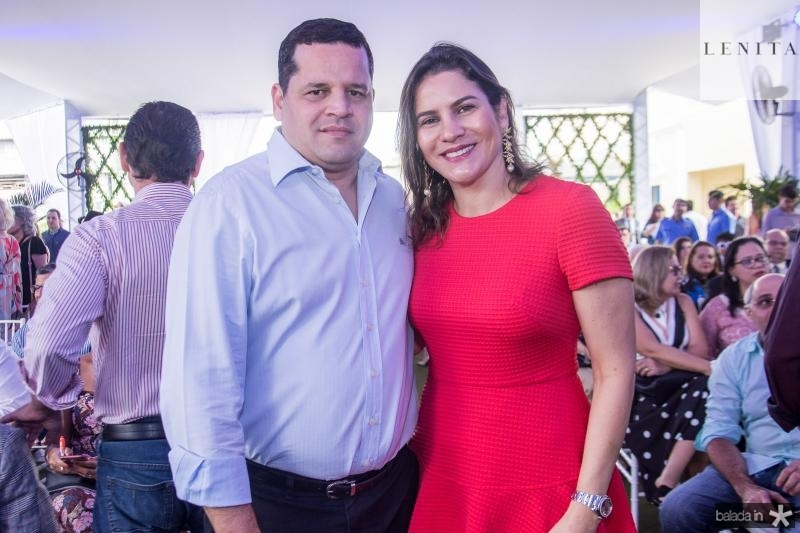 Augusto e Luciana Borges
