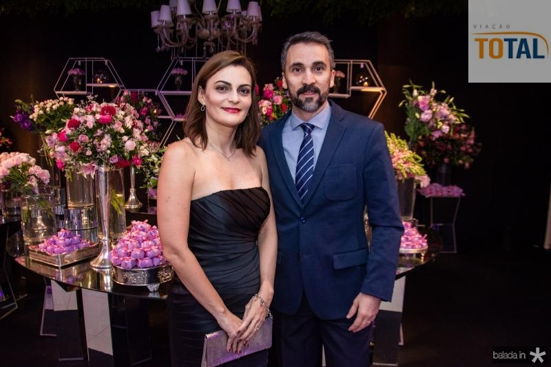 Raquel Cavalcante e George Malveira