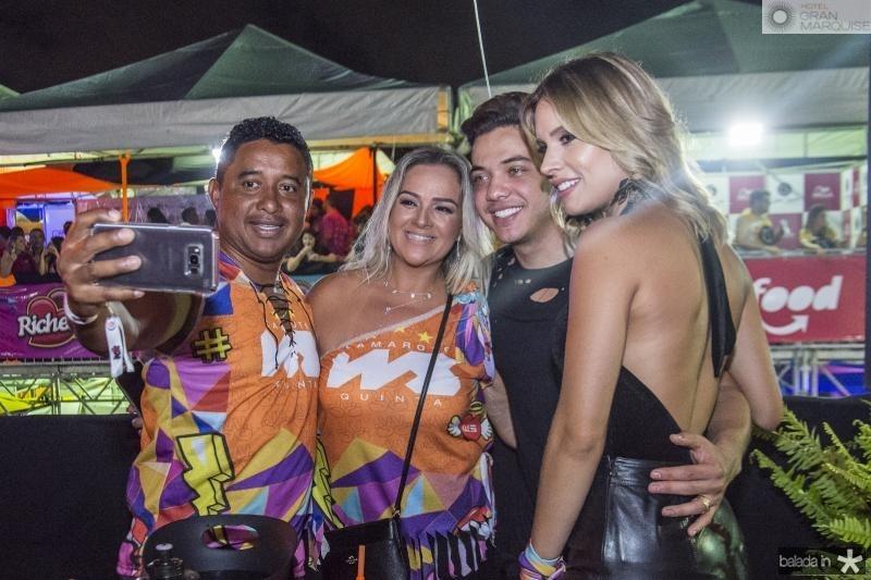 Maciel Pereira, Fernanda Pereira, Wesley Safadao e Thyane Dantas