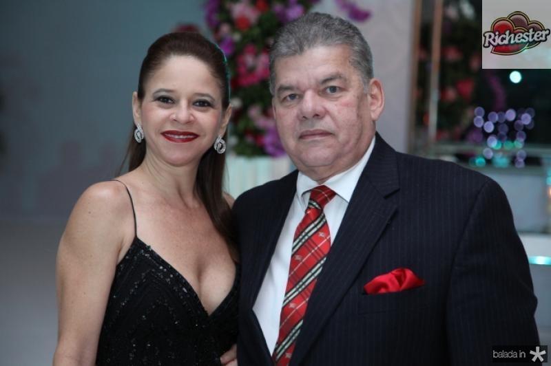 Claudiane e Carlos Juacaba