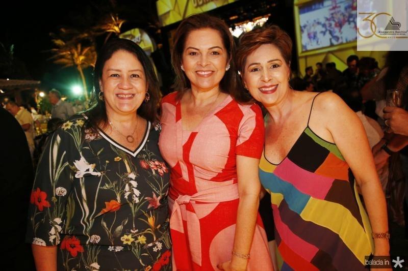 Rose Lima, Ana Maria Parente e Larissa Rolim