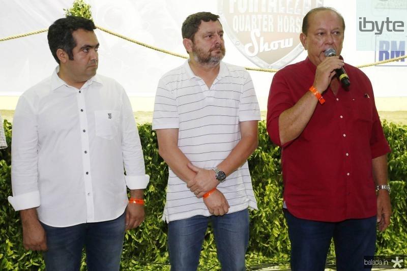 Raniele Mazile, Marcelo Sarmento e Rafael Leal