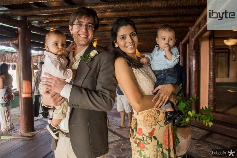 Vitor, Ricardo, Liana e Arthur Sousa