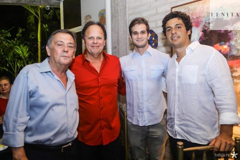 Marconi Nogueira, Wilton Correia Lima, Ravi Macedo e Terry Balcu