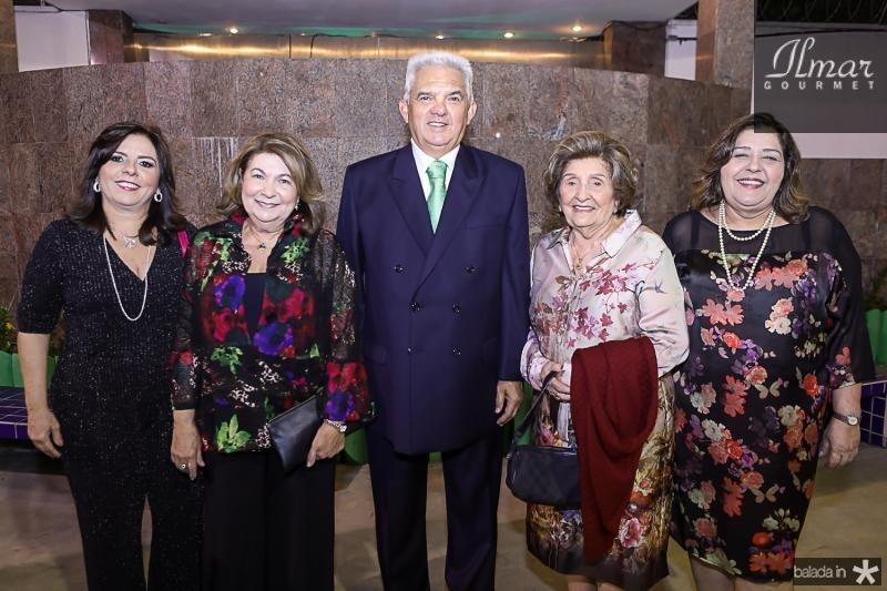 Deise Tavares, Nadia, Tales, Iramir e Carla de Sa Cavalcante
